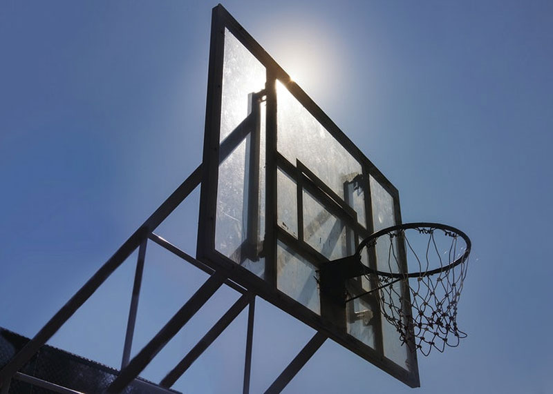 Build Your Own Basketball Court In Your Yard